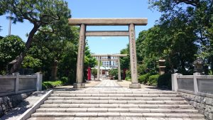 石濱神社 一の鳥居