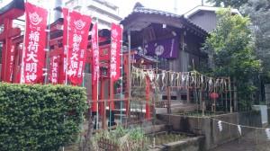 下天明天祖神社 稲荷社 社殿