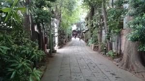 戸越八幡神社 参道