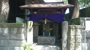 廣尾稲荷神社 庚申像