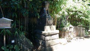 戸越八幡神社 参道狛犬 (1)