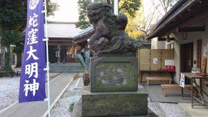 上神明天祖神社 狛犬 (2)