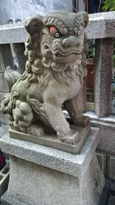 三光稲荷神社 狛犬 (1)