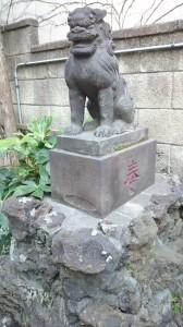 末廣神社 狛犬 (1)