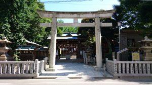 下谷神社 二の鳥居