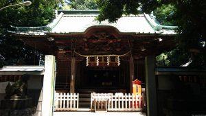戸越八幡神社 拝殿正面