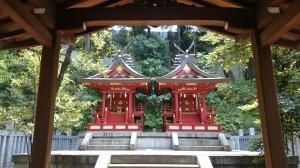 白金氷川神社 建武神社 (2)