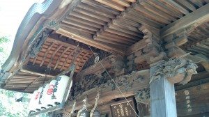 御嶽神社 社殿彫刻 (2)