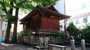 下谷神社 舞殿