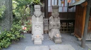 七社神社 孔子像・孟子像