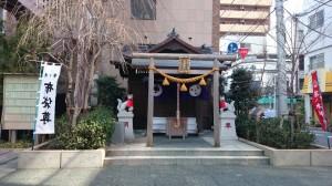 茶ノ木神社 社地全景