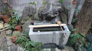 三光稲荷神社 水盤