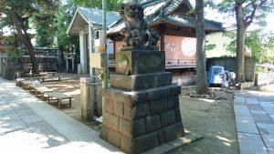 戸越八幡神社 参道狛犬 (2)