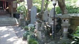 廣尾稲荷神社 石碑群
