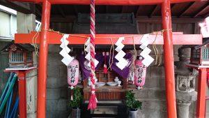 戸越稲荷神社 社殿
