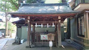 戸越八幡神社 手水舎