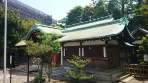 白金氷川神社 拝殿