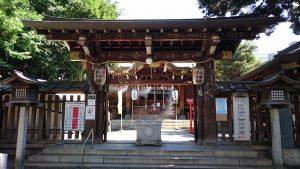 下谷神社 神門