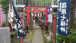 上神明天祖神社 厳島神社鳥居