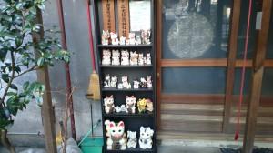 三光稲荷神社 奉納された招き猫