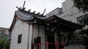 荏原金刀比羅神社 社殿全景