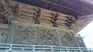 御嶽神社 社殿彫刻 (1)
