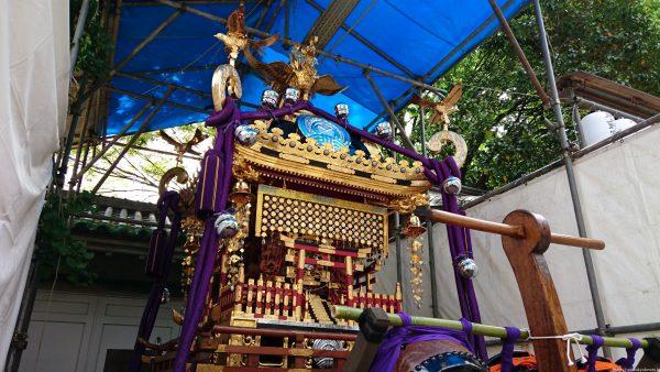 下谷神社 本社神輿