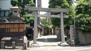 廣尾稲荷神社 鳥居