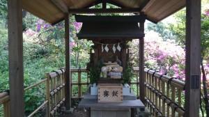 白金氷川神社 稲荷神社 (3)