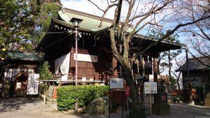 七社神社 拝殿