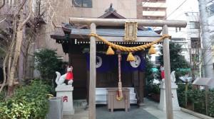 茶ノ木神社 社殿