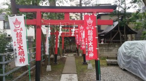 上神明天祖神社 稲荷社 (2)