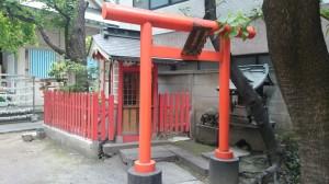 銀杏岡八幡神社 境内社此葉稲荷神社 (1)