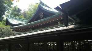 白金氷川神社 本殿 (2)