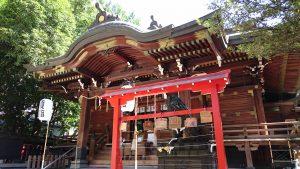下谷神社 拝殿
