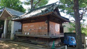戸越八幡神社 神楽殿