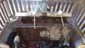 戸越八幡神社 水盤