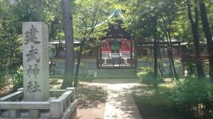 白金氷川神社 建武神社 (1)