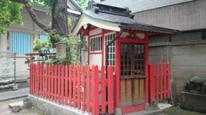 銀杏岡八幡神社 境内社此葉稲荷神社 (4)