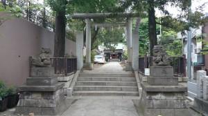 下天明天祖神社 二の鳥居