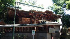 戸越八幡神社 拝殿