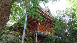 下谷神社 本殿