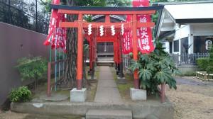 下天明天祖神社 稲荷社 鳥居