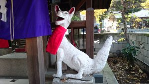 上神明天祖神社 眷属狐 (2)