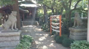 廣尾稲荷神社 狛犬