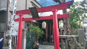 三光稲荷神社 鳥居