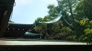 白金氷川神社 本殿 (1)
