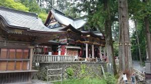 三峯神社 拝殿 (6)