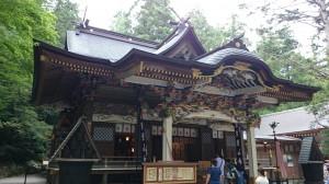 寶登山神社 拝殿彫刻 (1)