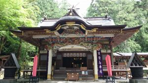 寶登山神社 拝殿